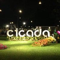 Photo taken at Cicada Market by Tidajan K. on 4/14/2013