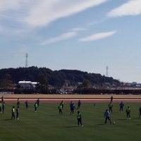 Photo taken at 宮崎市生目の杜運動公園陸上競技場 by Yoichi on 2/15/2015