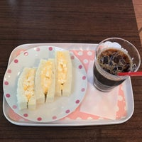 Photo taken at カフェロゼ 北九州空港店 by Yoichi on 6/16/2017