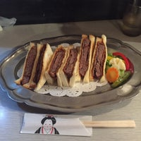 Photo taken at 新世界 グリル梵 by Yoichi on 5/15/2016
