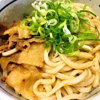 Photo taken at 麺バー UDON by Yoichi on 6/22/2014