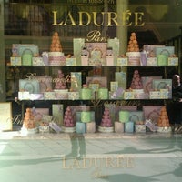 Photo taken at Ladurée Milan by Daniele M. on 9/28/2012