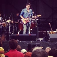 Photo taken at New Orleans Fairgrounds by Megan F. on 4/27/2013