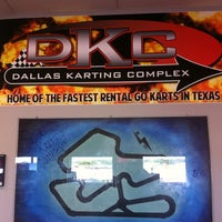 Photo taken at Dallas Karting Complex by Jared G. on 10/18/2012