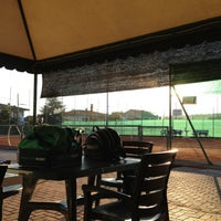 Photo taken at Tennis Club Peseggia by Federico B. on 10/23/2012