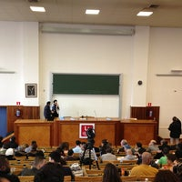 Photo taken at Université Saint-Louis by Arnaud B. on 2/16/2013