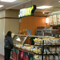 Photo taken at SUBWAY by Paul S. on 1/21/2016
