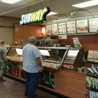 Photo taken at SUBWAY by Paul S. on 4/13/2016