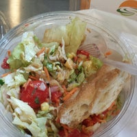 Photo taken at Just Salad by Helen M. on 7/3/2013
