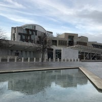 Photo taken at Scottish Parliament by Benjamin H. on 12/28/2016