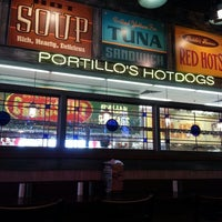 Photo taken at Portillo's Hot Dogs by Christine M. on 4/20/2013