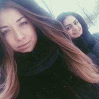 Photo taken at Парковка Минская by Евгения А. on 1/22/2014