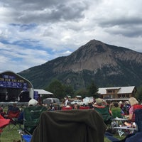 Photo taken at Crested Butte Center for the Arts by Mark M. on 8/1/2016