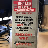 ... Photo Taken At Charles Maund Toyota By Ratul S. On 11/19/2016 ...