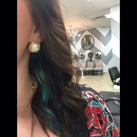 Photo taken at Southern Glam Salon and Boutique by Southern G. on 2/24/2016
