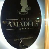 Photo taken at Hotel Amadeus by Mustafa D. on 11/10/2016