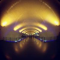 Photo taken at Metro Baixa-Chiado [AZ,VD] by Pedro B. on 12/7/2012