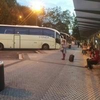 Photo taken at Donostia | San Sebastián Bus Station by Gustavo B. on 10/13/2012