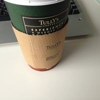Photo taken at Tully's Coffee by Katsuo I. on 7/1/2013