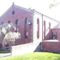Photo taken at Gardner A. Sage Library by Hosung L. on 4/25/2013