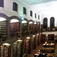 Photo taken at Gardner A. Sage Library by Hosung L. on 2/22/2013