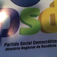 Photo taken at PSD- Partido Social Democrático by Maykon G. on 5/21/2014