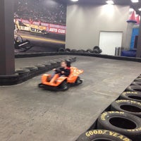 Photo taken at Extreme Grand Prix Indoor Family Fun Center by Gina R. on 2/22/2015