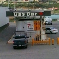 Photo taken at Gas Bar by Terri V. on 5/19/2014