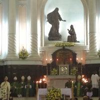 Photo taken at Igreja Matriz Santa Margarida Maria by Maristela C. on 11/28/2012