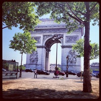 Photo taken at Place Charles de Gaulle by Fred P. on 6/6/2013