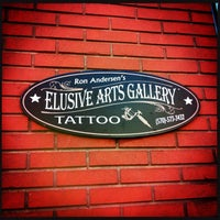 Photo taken at Elusive Arts Gallery by Ron A. on 9/27/2013