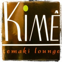 Photo taken at Kime Temaki Lounge by KIMÊ T. on 11/7/2012
