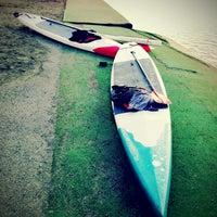 Photo taken at Green Lake Boathouse by Kate K. on 3/4/2013