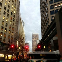 Photo taken at Downtown Seattle by Kate K. on 12/5/2012