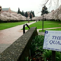 Photo taken at University of Washington by Kate K. on 4/6/2013