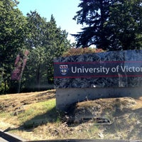 Photo taken at University of Victoria by Kate K. on 6/19/2013