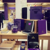 Photo taken at University Bookstore by Kate K. on 2/22/2013