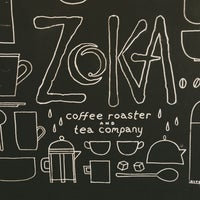 Photo taken at Zoka Coffee Roaster & Tea Company by Kate K. on 4/1/2013