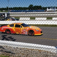 Photo taken at Barrie Speedway by Jeroen O. on 7/12/2014