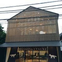 Photo taken at Maison Kitsune Daikanyama by Stella on 9/15/2016