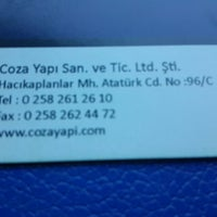 Photo taken at Coza Yapı Jotun Boya by Ercan E. on 12/5/2013