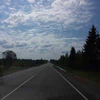 Photo taken at Трасса А114 «Вологда — Новая Ладога» by svetik on 6/13/2014