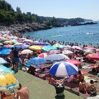 Photo taken at Kapuz Plajı by Rascal F. on 7/18/2015
