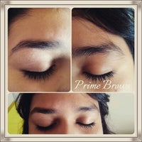 Photo taken at Prime Brows Eyebrow Threading & Waxing Salon Spa by Ruby N. on 1/7/2015