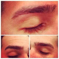 Photo taken at Prime Brows Eyebrow Threading & Waxing Salon Spa by Ruby N. on 9/9/2014