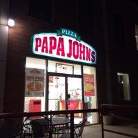 Photo taken at Papa John's Pizza by Vahid O. on 1/17/2014