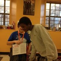 Photo taken at Bridgeport Public Library Teen Cafe by Bridgeport Public Library -Teen Cafe on 11/18/2013