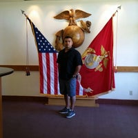 Photo taken at MCRD San Diego Museum by Alba G. on 7/21/2014