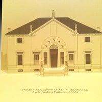 Photo taken at Villa Pojana by Giovanni R. on 5/29/2013