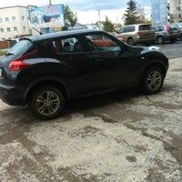 Photo taken at Жучок🚘 by Kristina S. on 10/10/2013